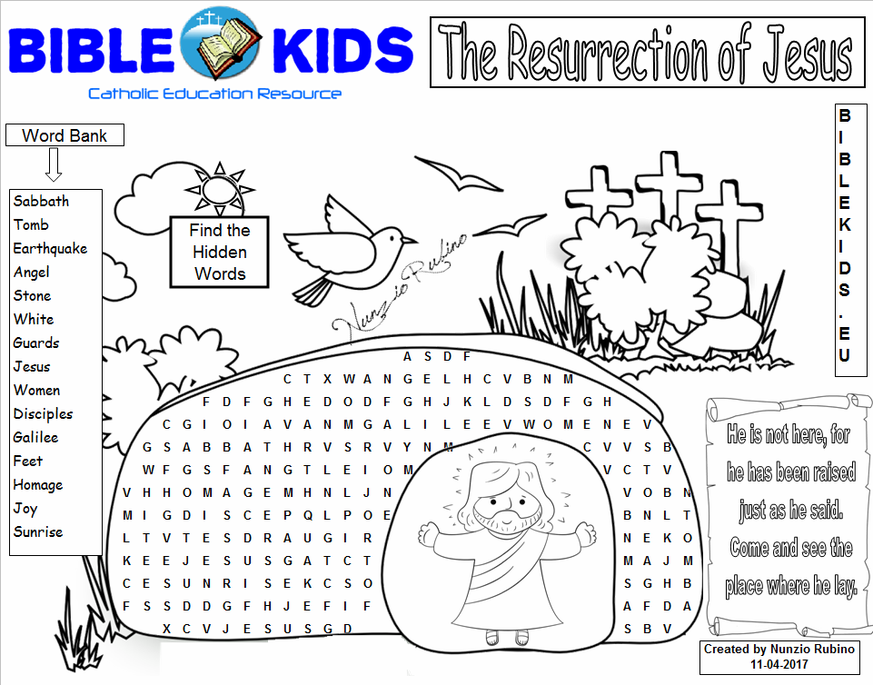 It's just a picture of Luscious Printable Children's Bible Word Search Puzzles